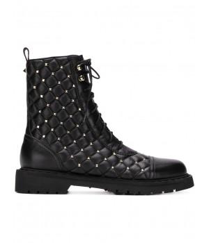 стеганые ботинки Valentino...