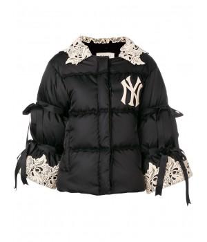 дутая куртка 'NY' с...
