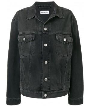 джинсовая куртка с логотипом