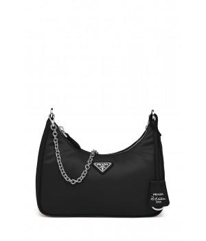Черная сумка со съемным...