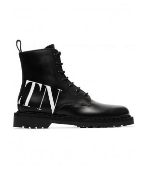 ботинки с принтом логотипа